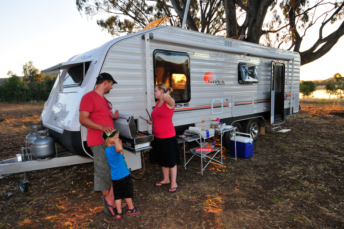 A Guide To Caravan Barbecues - Without A Hitch | Without A Hitch