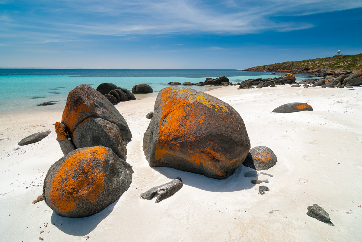 6. Lincoln National Park is carved with coves and bright blue bays