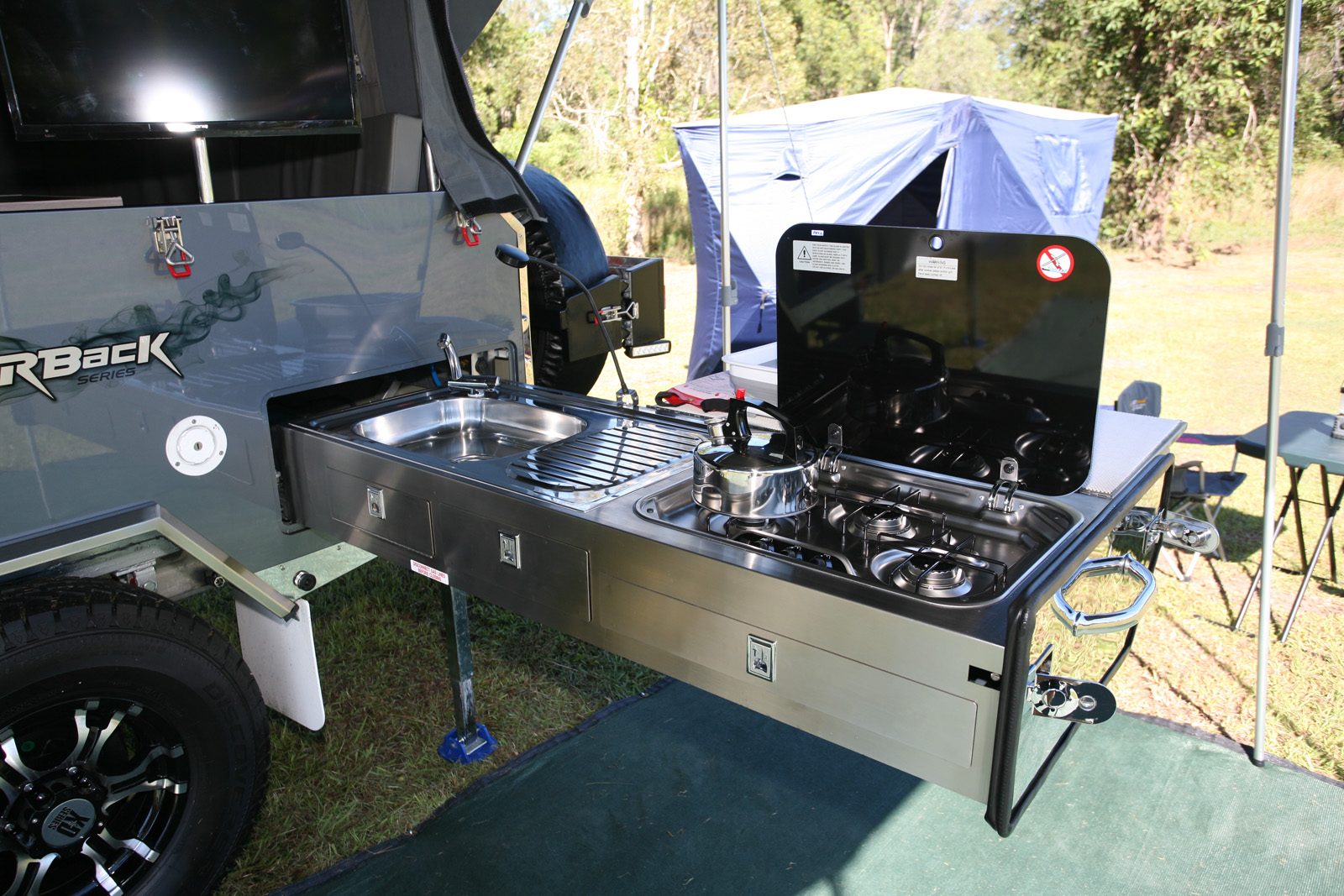 External barbecue