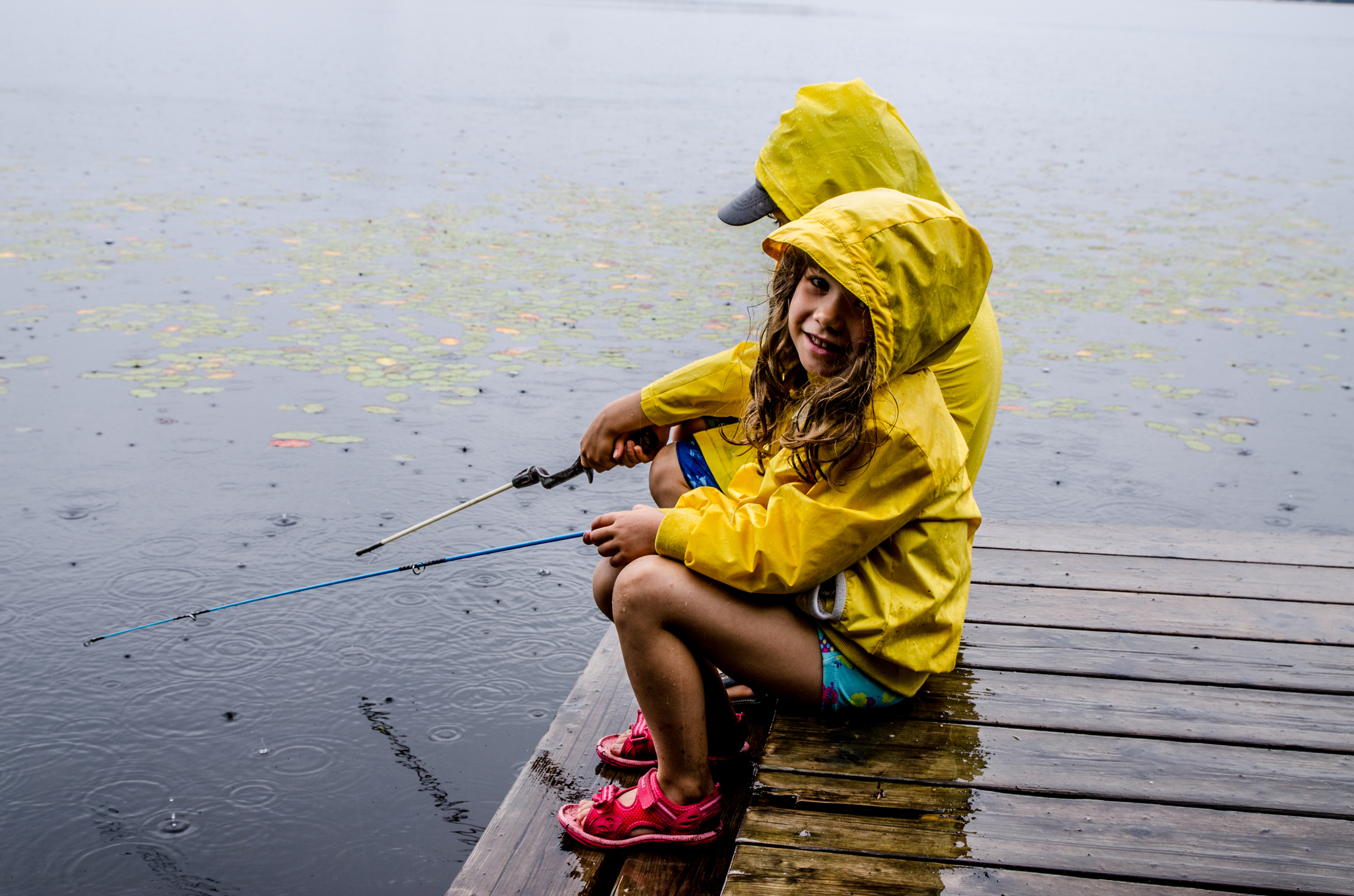 6 tips for fishing with kids without a hitch without a for Kids fishing gear