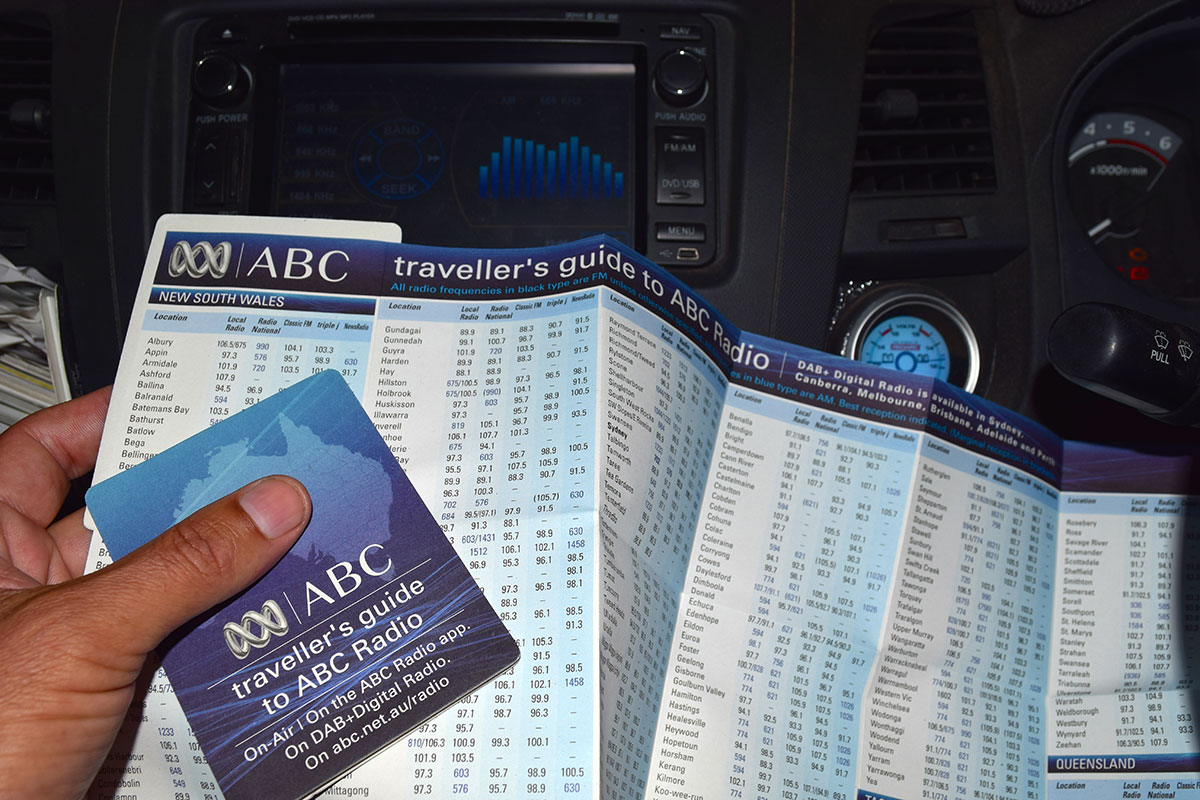 ABC Travellers guide brochure