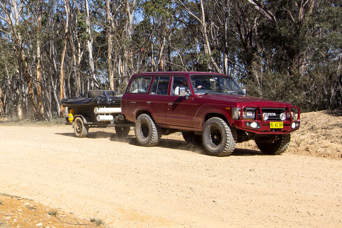 Toyota-towing-a-camper-trailer